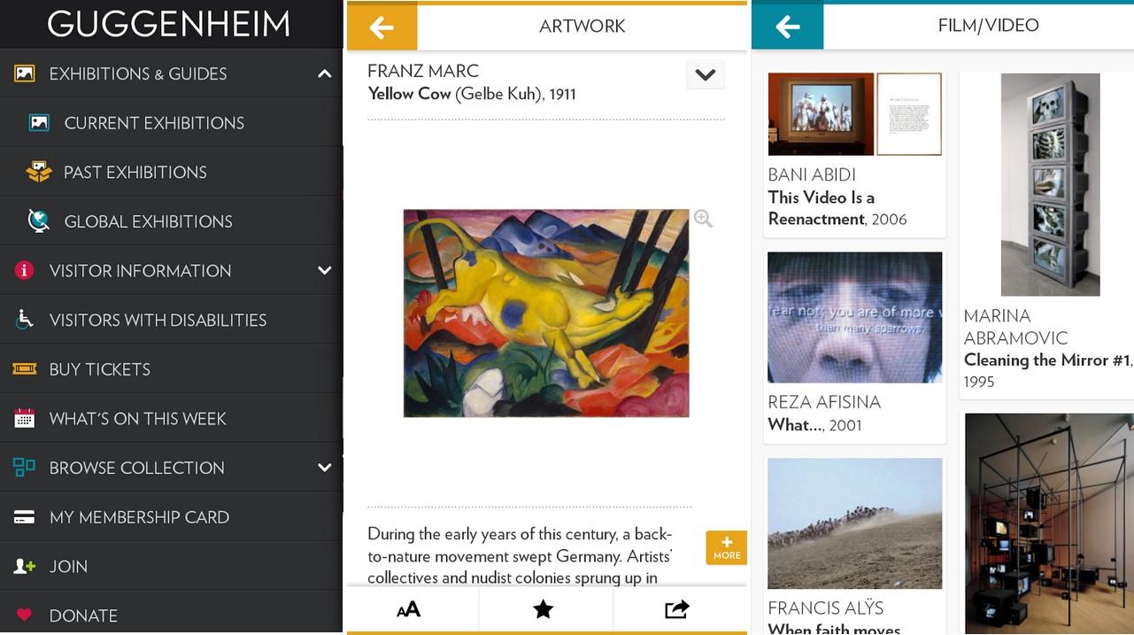 Un recorrido por el Museo Guggenheim, gratis para iPhone, iPad, iPod, Android
