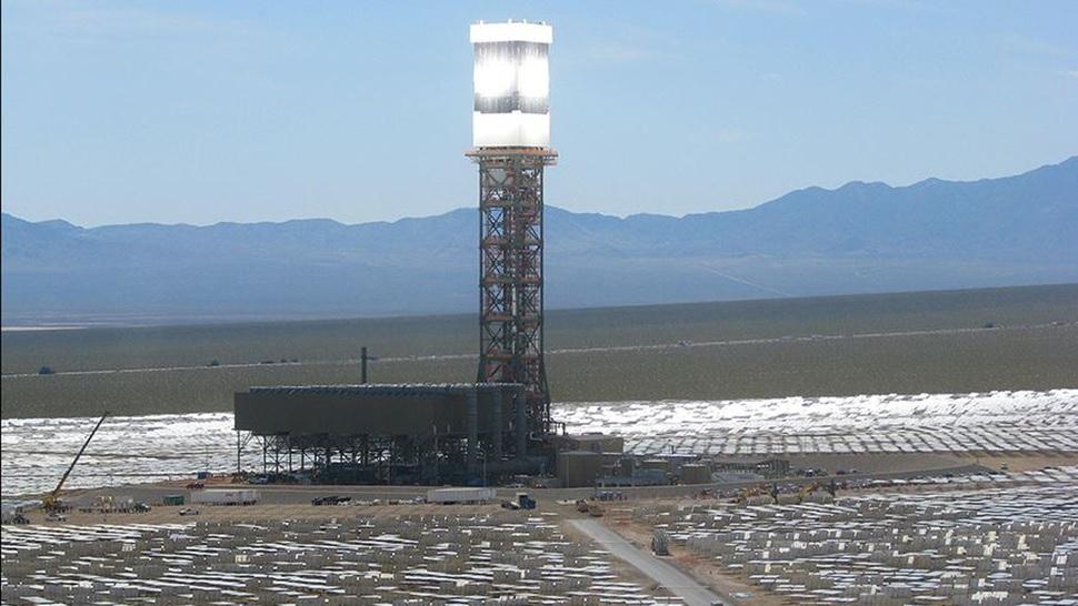 Entra en funcionamiento la planta de energía térmica solar más grande del mundo