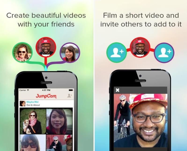 Una videos de sus amigos en un solo video, gratis para iPad, iPhone, iPod