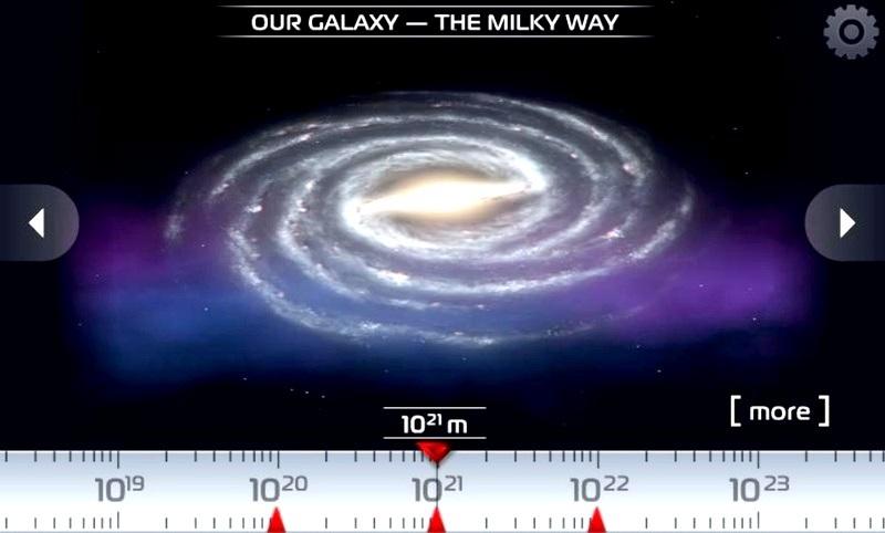 Explore el universo en 3D, gratis para Android
