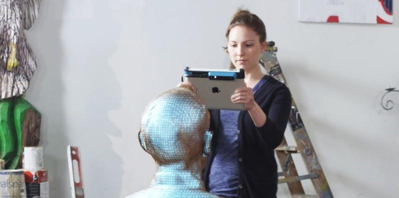 Convierta su iPad en un escáner 3D