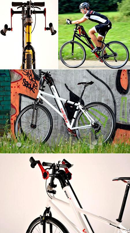 Inventan bicicleta que se pedalea con brazos y piernas