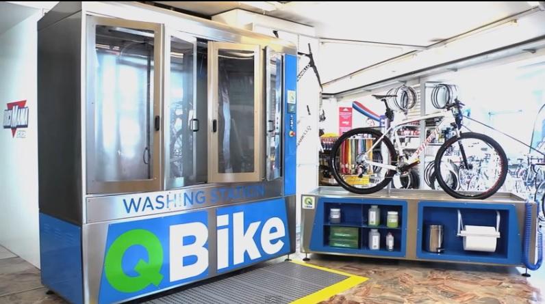 Diseñan lavadora automática para bicicletas