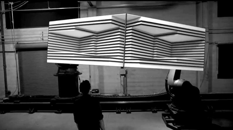Asombrosas proyecciones 3D sobre superficies móviles