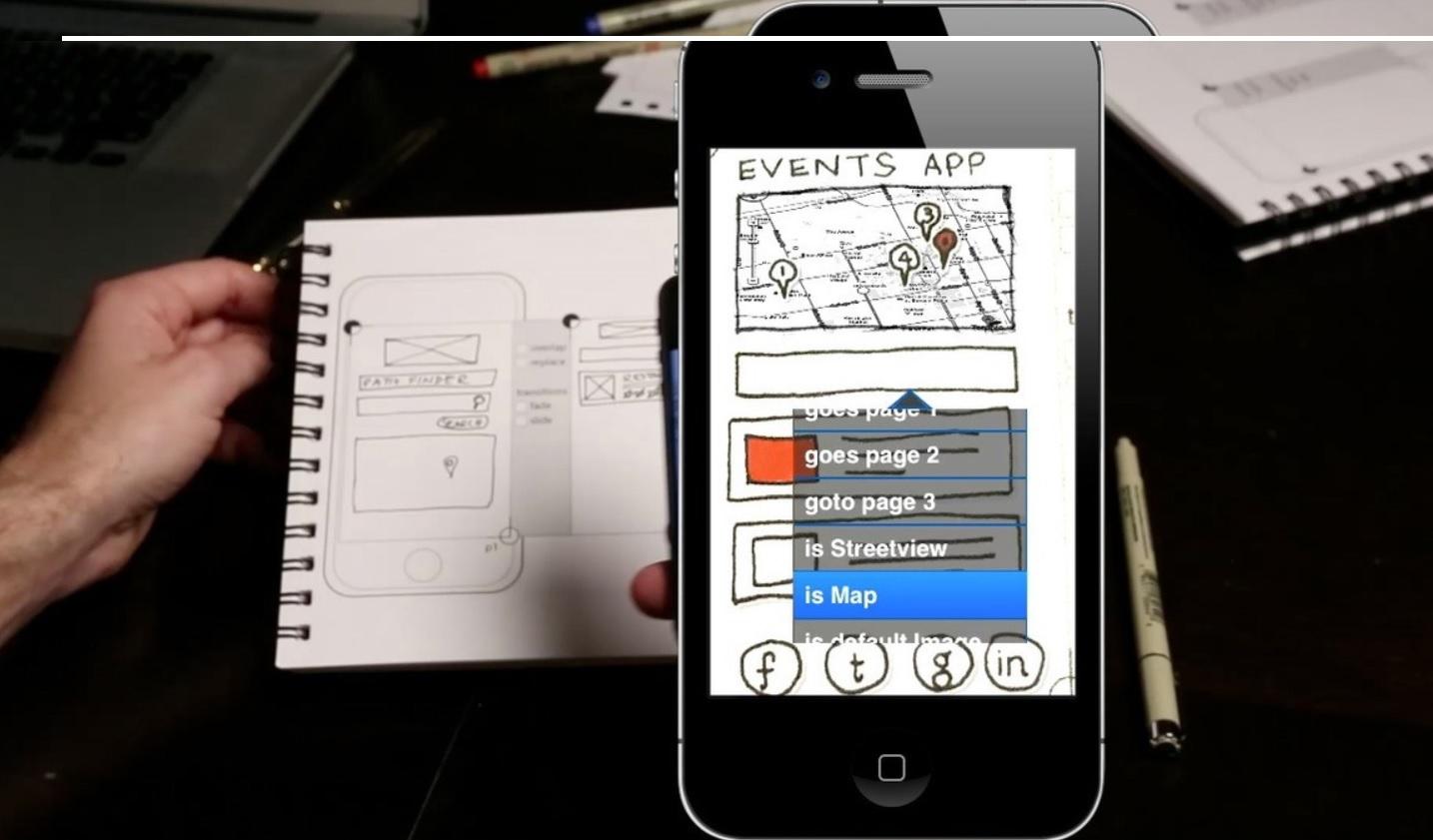 Un aplicativo que convertirá sus dibujos en prototipos
