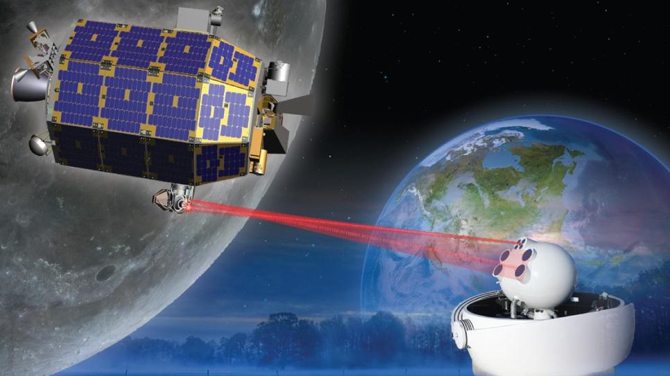 La NASA logra transmitir datos de la Luna a la Tierra a 622 mbps