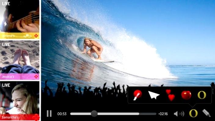Comparta videos y fotos en tiempo real hasta con 9 amigos, gratis para iPad, iPhone, iPod
