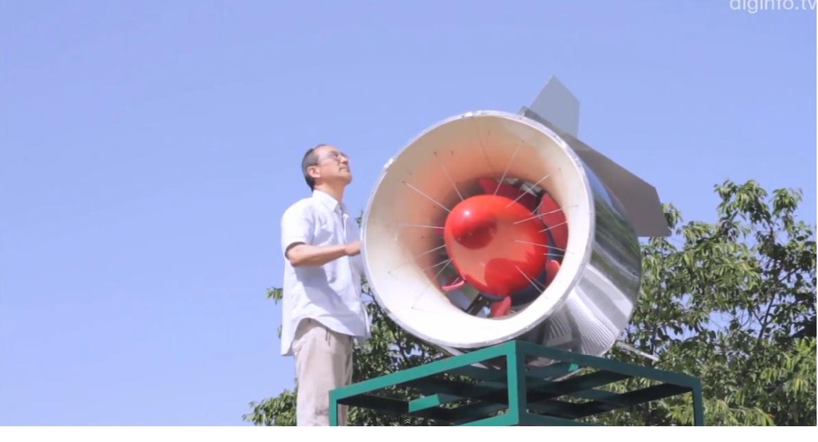 Turbinas de viento compactas para generar electricidad en hogares