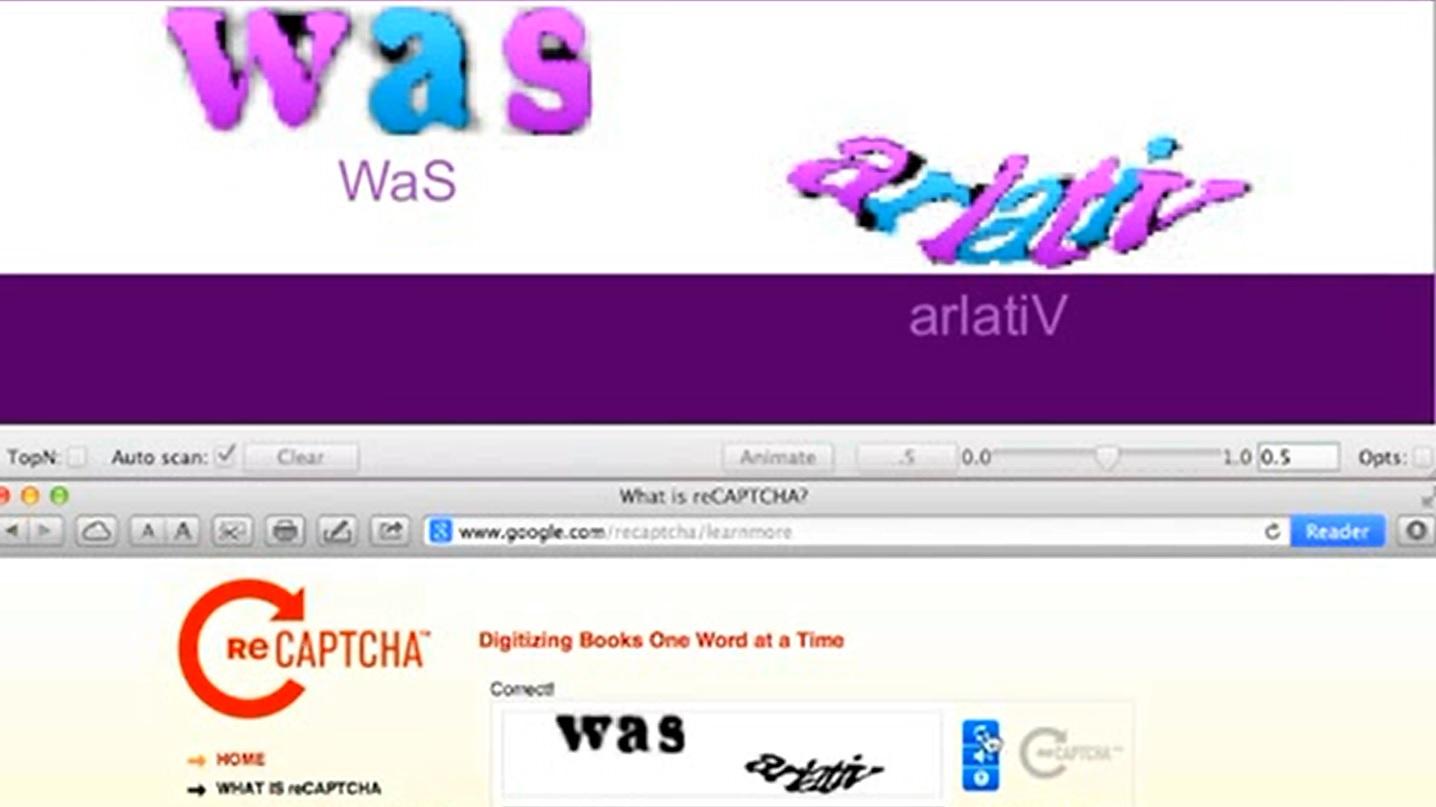 Algoritmo de inteligencia artificial descifra palabras CAPTCHA el 90% de las veces