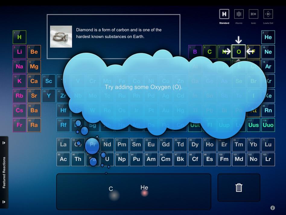 Cree reacciones químicas gratis en su Android