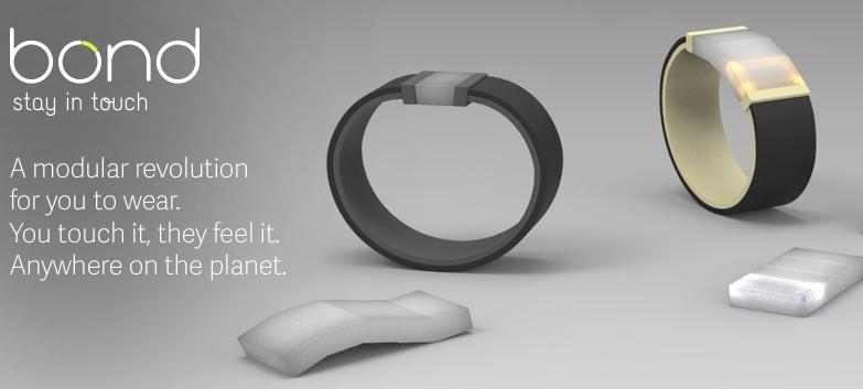 Con esta pulsera podrá hacer cosquillas remotamente