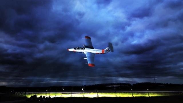 Cómo tomar una foto de un jet en vuelo a 644 Km/h