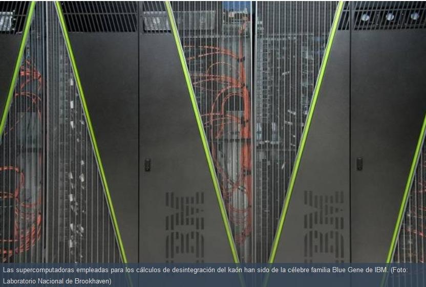 Supercomputadoras Blue Gene de IBM buscan resolver enigma cosmológico de hace 50 años