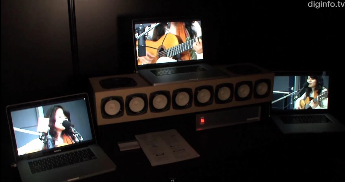 Sincronización automática de múltiples videos a una fuente de audio, en tiempo real