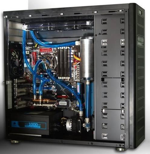 Innovador método de enfriamiento líquido para computadores