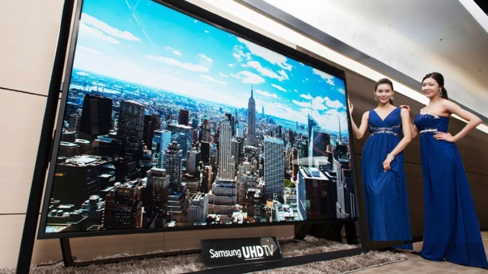 Samsung presenta su TV de 110 pulgadas UHDTV con resolución 4K