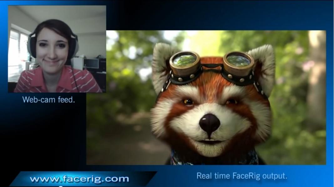 Personifique a su avatar favorito en videollamadas, en tiempo real