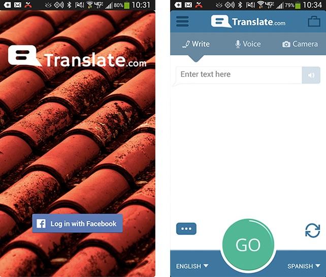 Traducciones de palabras, voz o fotos, gratis para iPhone, iPad, iPod, Android