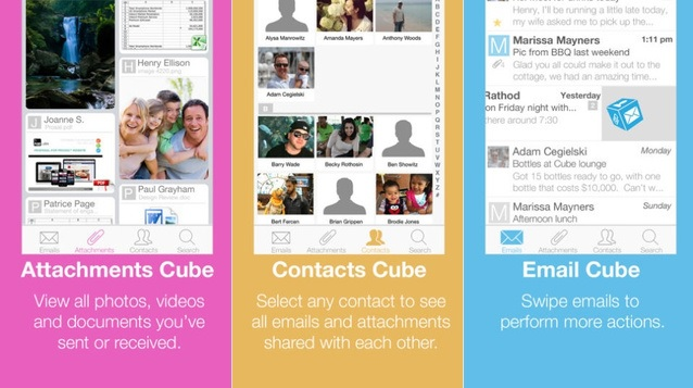 Organizador visual de correos de diferentes plataformas, gratis para iPhone, iPad, iPod