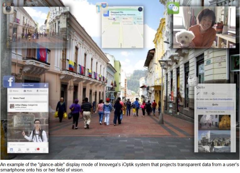 Lentes de contacto con realidad aumentada proyectarán en Full HD