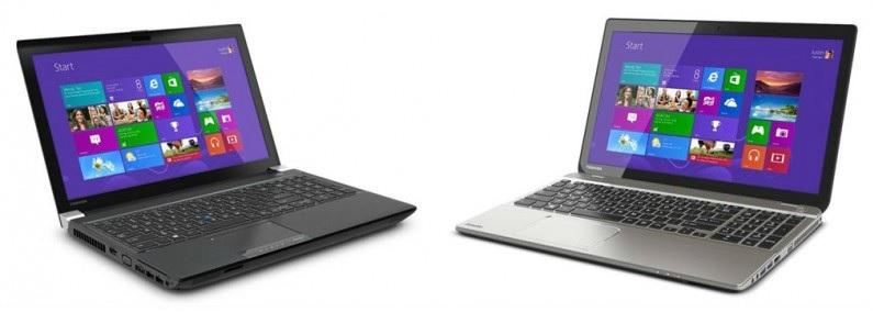 Toshiba presenta los primeros portátiles en el mundo con resolución 4K