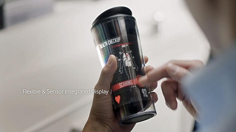 El futuro de las pantallas según Samsung