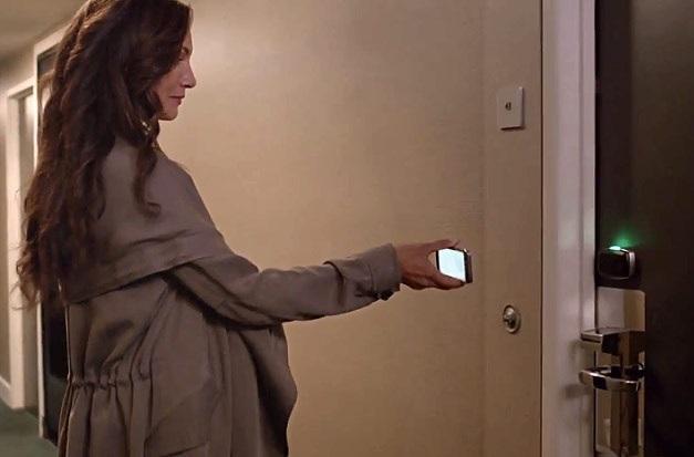 Pruebas piloto en hoteles para usar su teléfono como llave de su habitación