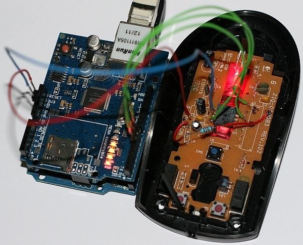 Su ratón de PC podría convertirse en una webcam