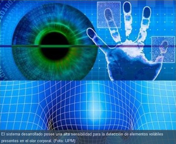 Identificación biométrica de personas por su olor corporal