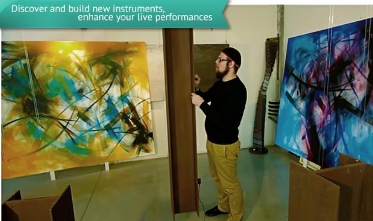 Transforme cualquier superficie en instrumento musical