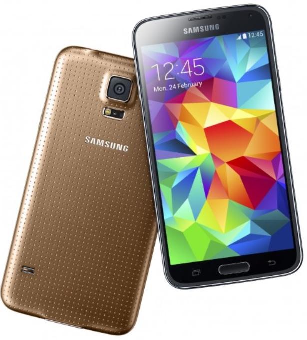 Samsung introduce su nuevo smartphone Galaxy S5