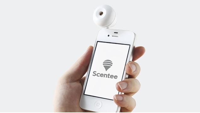 Emisor de aromas para su teléfono