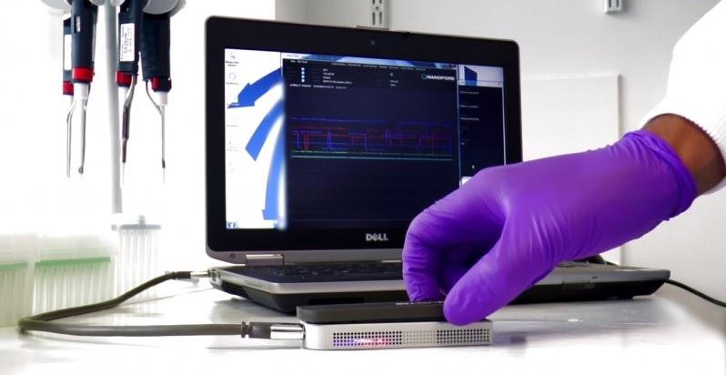 Su ADN se podrá leer en dispositivos del tamaño de una memoria USB