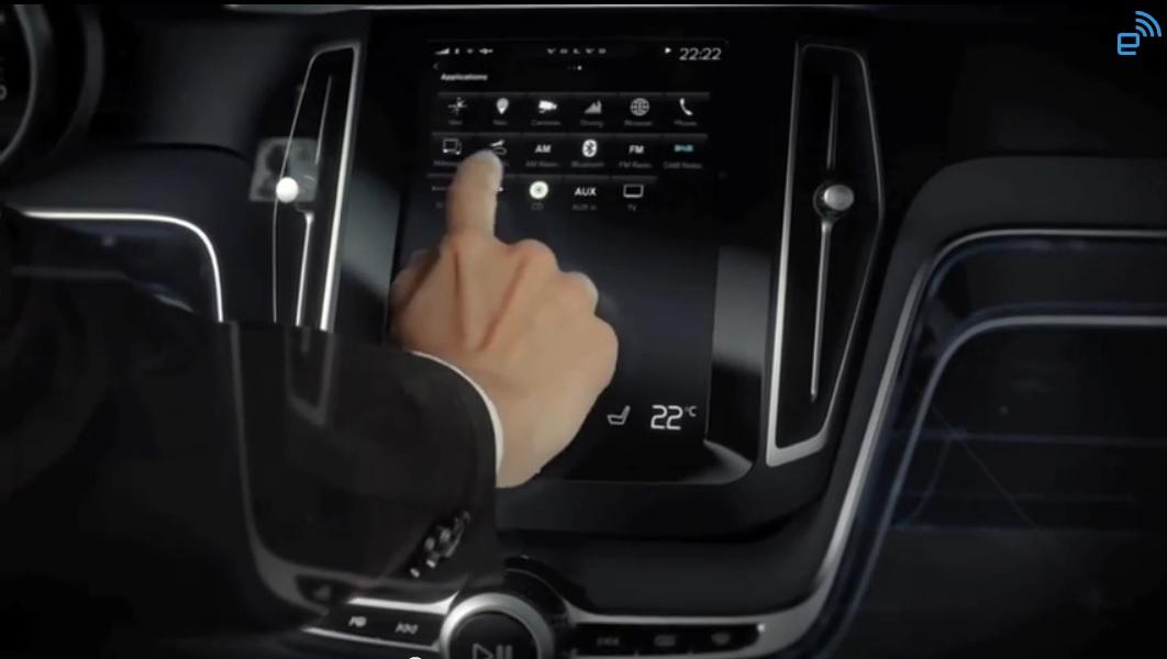 Volvo presentará en el Geneva Motor Show su más reciente interfase hombre-máquina para automóviles.