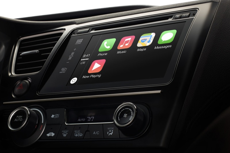 CarPlay, el copiloto de Apple para automóviles