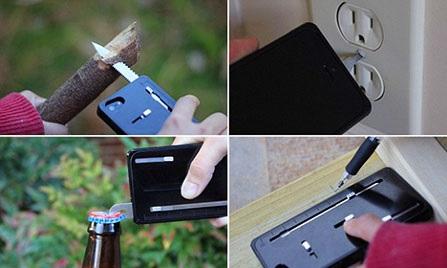 Un estuche para iPhone tipo navaja suiza