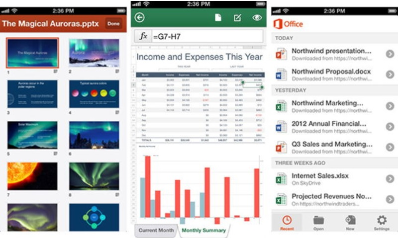 Microsoft Office Mobile gratis para iPhone y Android
