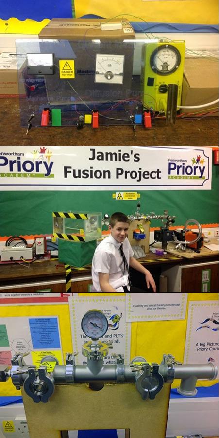 Joven de 13 años logra realizar una fusión nuclear