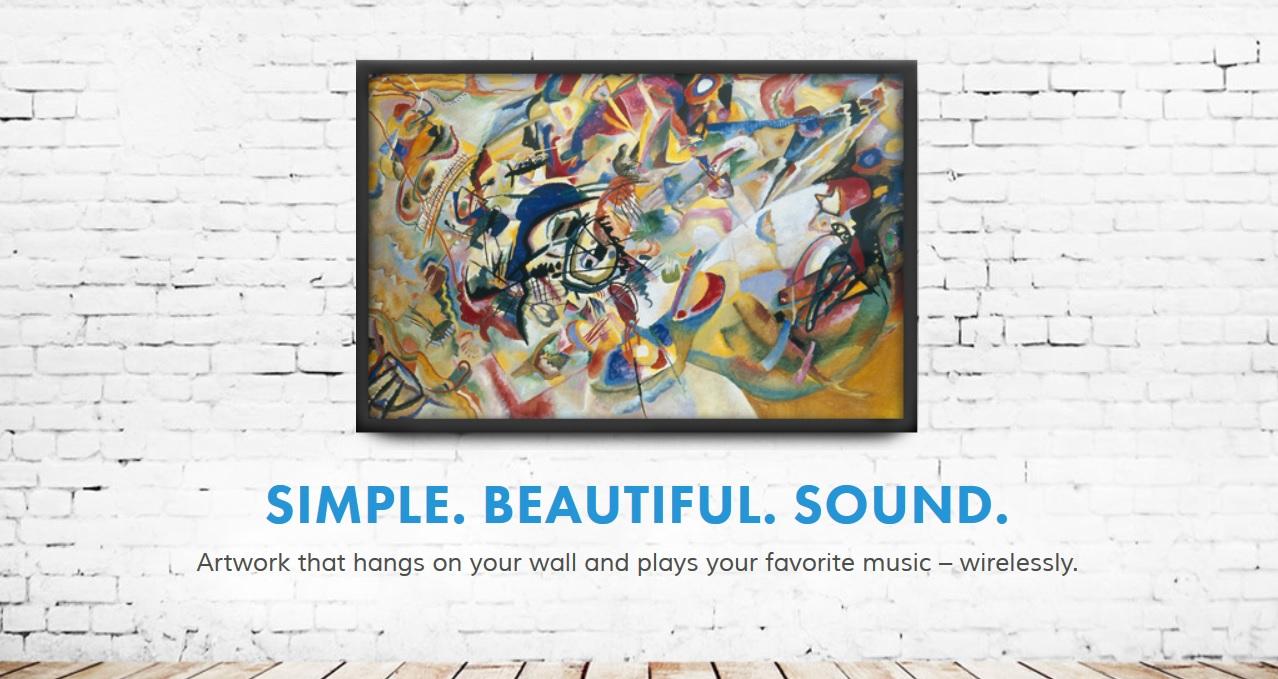 Soundwall, pinturas que tocan música de forma inalámbrica