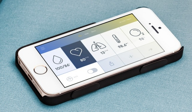Estuche para iPhone que mide los signos vitales de su dueño