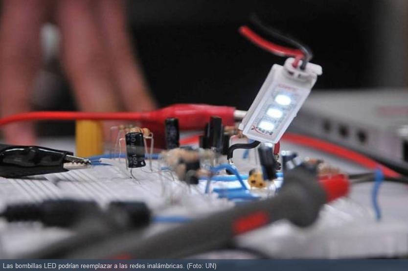 Los bombillos LED también servirán para transmitir datos