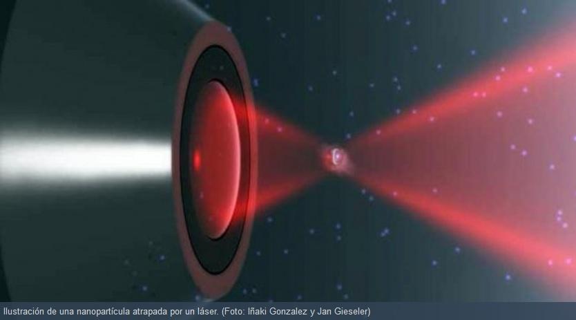 Nanopartícula incumple la segunda ley de la Termodinámica