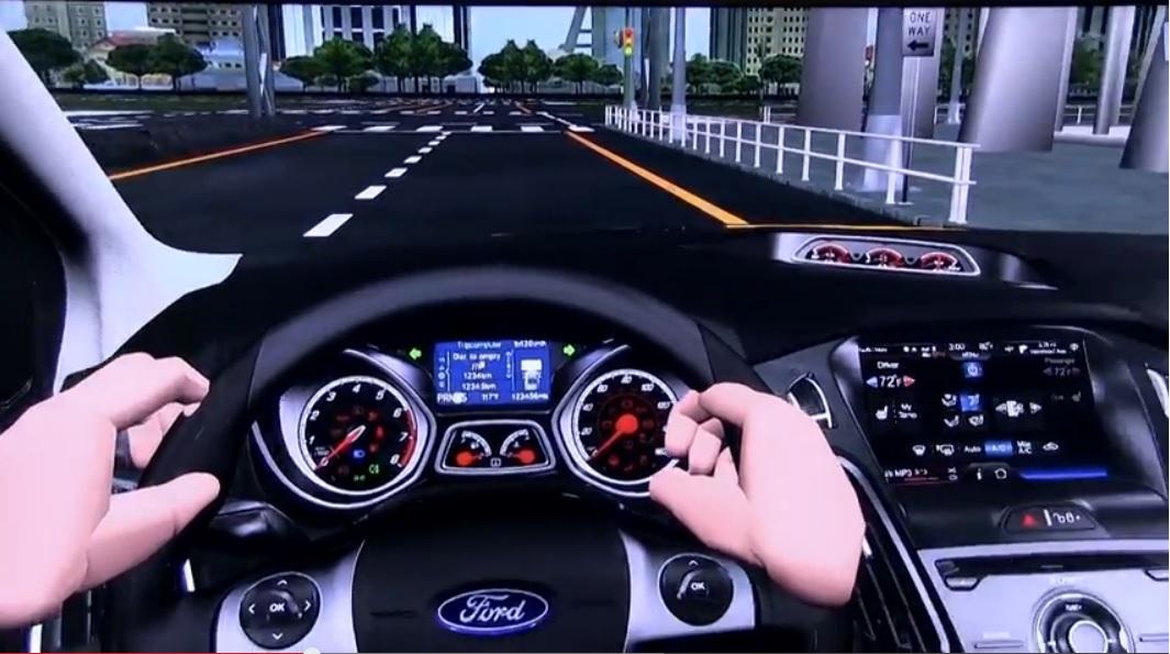 Realidad virtual en el diseño de los autos de Ford