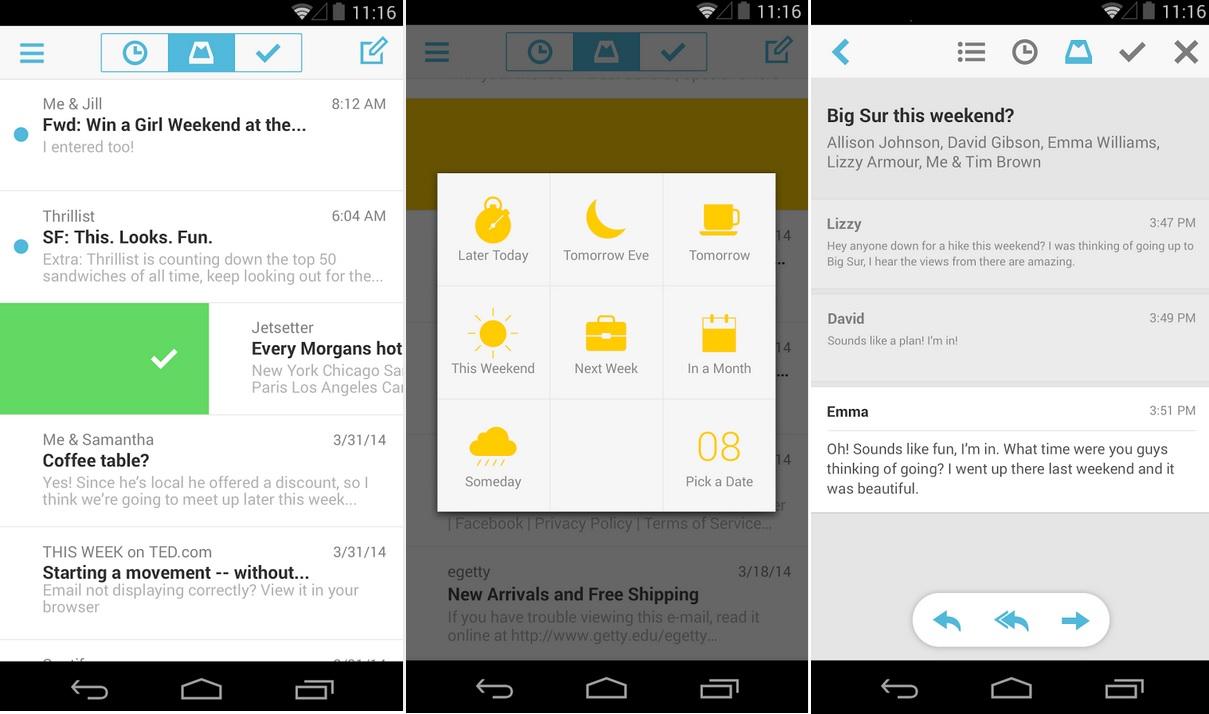 Mailbox de Dropbox gratis para iPhone, iPad, iPod, Android
