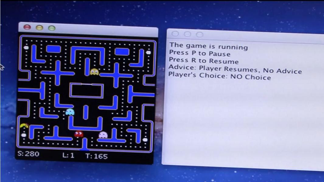 Robots que enseñan a otros robots a jugar Pac-Man