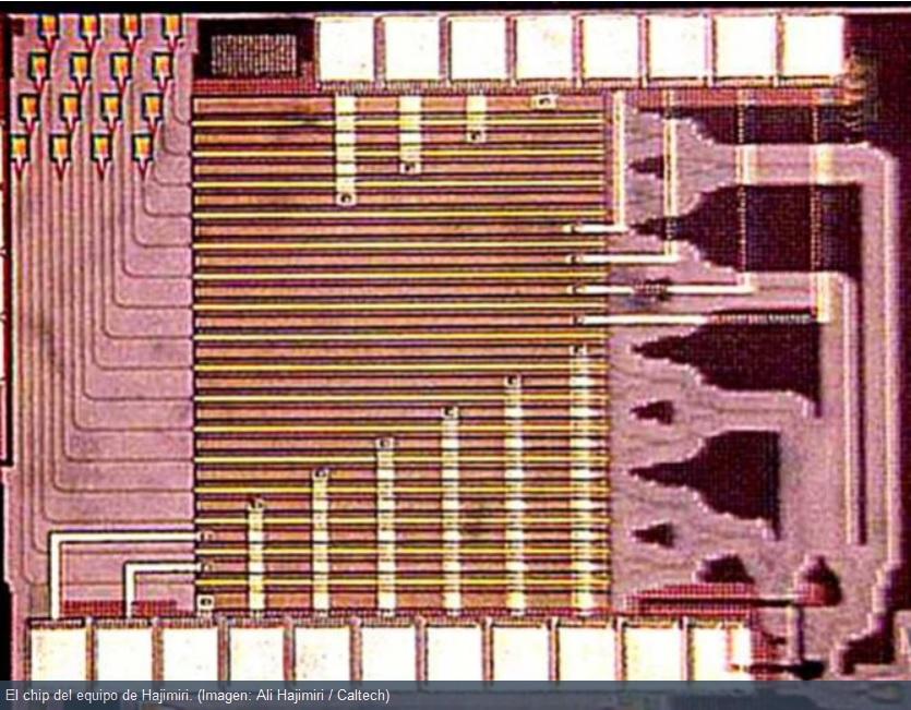 Nuevo chip permitiría usar un celular como proyector sin lentes ni bombillos