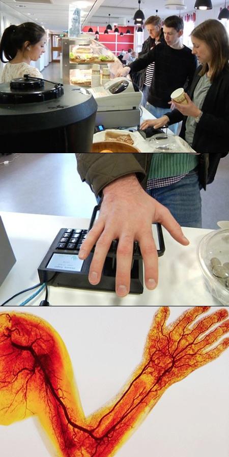 En Suecia ya pueden hacer compras usando solo sus venas
