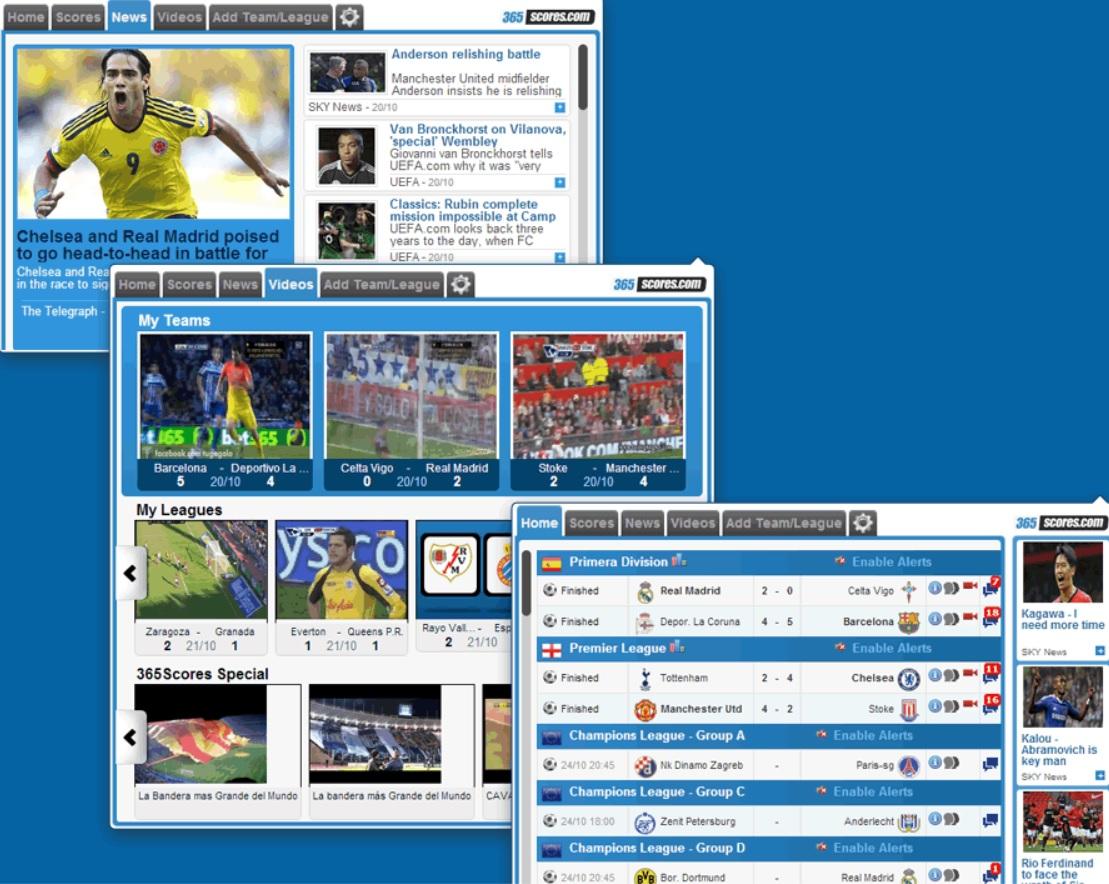 Siga los resultados del fútbol, incluyendo el Mundial, desde su navegador Chrome