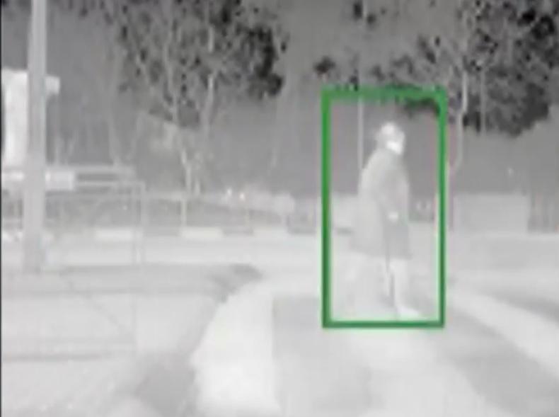 Un auto inteligente que detecta peatones de noche
