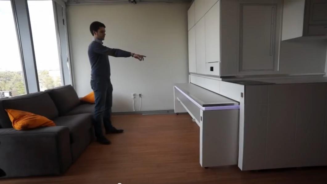 La configuración de los hogares del futuro será controlada por gestos